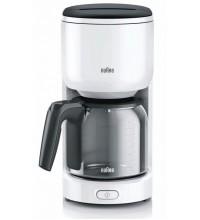 Капельная кофеварка Braun PurEase KF 3120 WH купить в интернет-магазине с доставкой