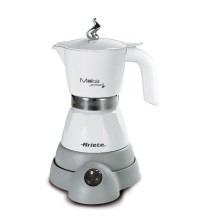 Гейзерная кофеварка Ariete Moka Aroma 1358/10, белый купить в интернет-магазине с доставкой