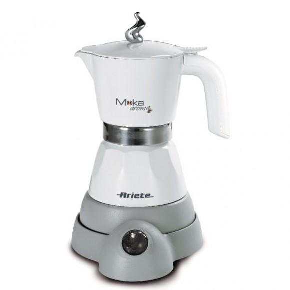 Гейзерная кофеварка Ariete 1358 Moka Aroma White