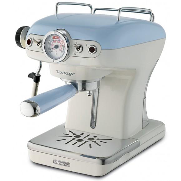 Рожковая кофеварка Ariete Vintage 1389/05, голубой