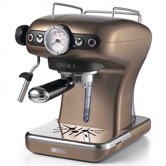 Рожковая кофеварка Ariete Classica 1389/16, бронзовый