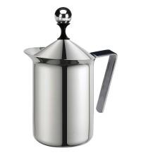 Молочник G.A.T. Pratika 113003 (0,30 л) 6 чашек, нержавеющая сталь купить в интернет-магазине с доставкой