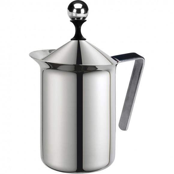 Молочник G.A.T. Pratika 113003 (0,30 л) 6 чашек, нержавеющая сталь