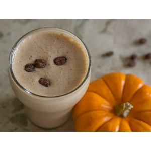 Кофейно-тыквенный молочный коктейль