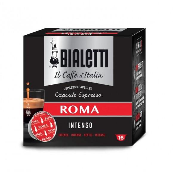 Капсулы Bialetti Roma 16шт для кофемашин Bialetti