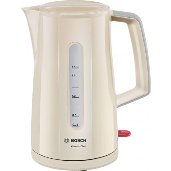 Чайник BoschTWK 3A017, кремовый