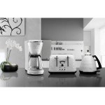 Чайник DeLonghi BRILLANTE KBJ 2001.W (белый)