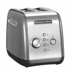 Тостер KitchenAid, серебристый, 5KMT221EMS