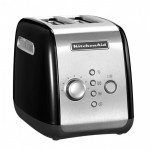 Тостер KitchenAid, черный, 5KMT221EOB