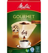 Оригинальные бумажные фильтры Melitta Gourmet Intense, 1х4, 80шт, коричневые купить в интернет-магазине с доставкой