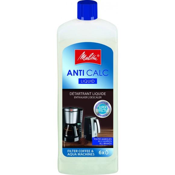Очиститель от накипи для капельных кофеварок и чайников Melitta Anti Calc, жидкий, 250мл