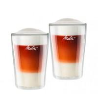 Бокалы Melitta с двойным стеклом для латте макиато купить в интернет-магазине с доставкой