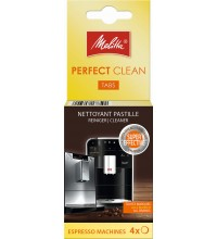 Таблетки для автоматических кофемашин Melitta Perfect Clean, 4х1,8гр купить в интернет-магазине с доставкой