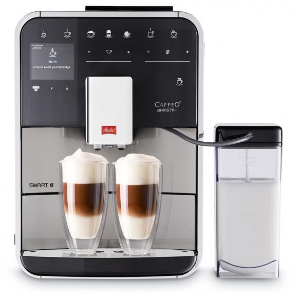 Автоматическая кофемашина Melitta Caffeo Barista T SMART SST F 840-100, серебристый