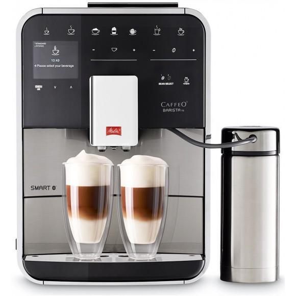 Автоматическая кофемашина Melitta Caffeo Barista TS SMART SST F 860-100, серебристый