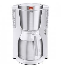 Капельная кофеварка Melitta Look IV Therm DeLuxe, белый купить в интернет-магазине с доставкой