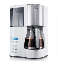 Капельная кофеварка Melitta Optima Glass Timer, белый купить в интернет-магазине с доставкой