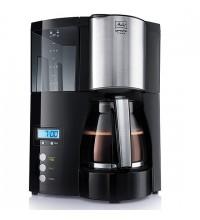 Кофеварка капельная Melitta Optima Glass Timer, черный купить в интернет-магазине с доставкой