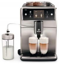 Автоматическая кофемашина Saeco SM7685/00, серебристый купить в интернет-магазине с доставкой