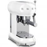 Рожковая кофеварка SmegECF01WHEU, белая