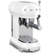 Рожковая кофеварка SmegECF01WHEU, белая купить в интернет-магазине с доставкой