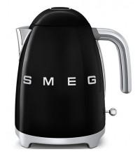 Чайник SMEG KLF03BLEU, черный купить в интернет-магазине с доставкой