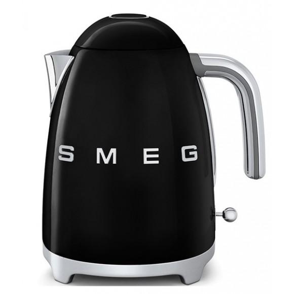 Чайник SMEG KLF03BLEU, черный