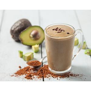 Смузи «Кофе с авокадо»